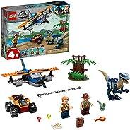 Lego Jurassic World Velociraptor: Missão de Resgate com Bipl 75942