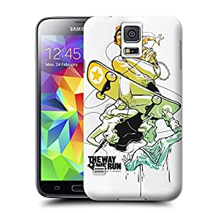 Buythecases Art wall clock Convergence for durable new samsung galaxy s5 case