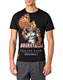 PHILIPP PLEIN - Men's T-shirt BEAU - black, XL