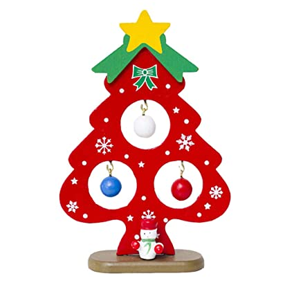 christmas tree decorations clearancejchentm merry christmas mini christmas tree decorations wooden