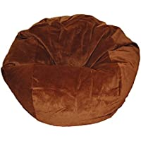 Ahh! Products Micro Suede Chocolate Washable Large Bean Bag Chair
