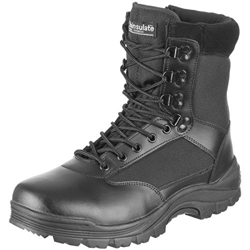 Mil-Tec Tactical Side Zip Botas Negro negro
