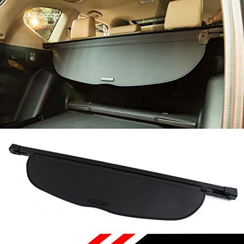 Cuztom Tuning Fits for 2017-2019 Honda CR-V CRV Premium Retractable Cargo Cover Luggage Shade - Black