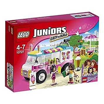 Lego 10727 Juniors Emmas Ice Cream Truck Amazoncouk Toys Games