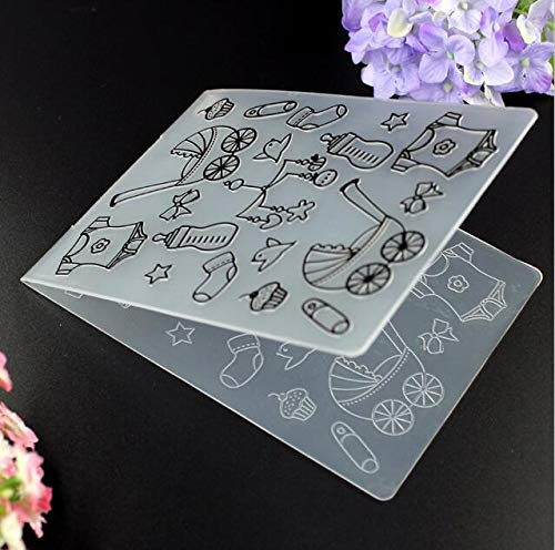 Baby Plastic Embossing Folders for DIY Scrapbooking Paper Craft/Card Making Decoration Supplies P006