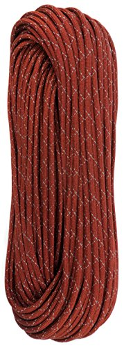 TOUGH-GRID New 700lb Double-Reflective Paracord/Parachute Cord - 2 Vibrant Retro-Reflective Strands for The Ultimate High-Visibility Cord - 100% Nylon - Made in USA - 100Ft. Red Reflective by TOUGH-GRID (Image #5)