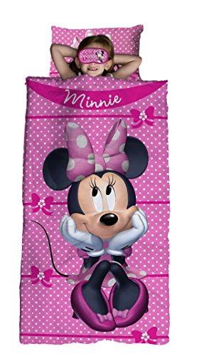 Jay Franco Minnie Bowtique 3 Piece Sleepover Set, Mouse