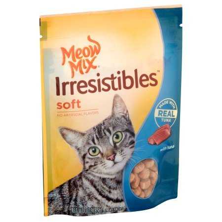 PACK OF 24 - MEOW MIX IRRESISTABLES 3OZ SOFT TUNA by Meow Mix (Image #2)