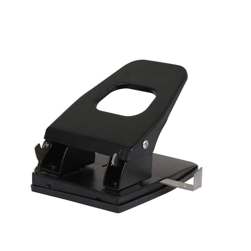 FeliciaJuan Hole Puncher Desktop ID Card Hole Punching Tool for Name Badge 35-Page Puncher Office Supplies