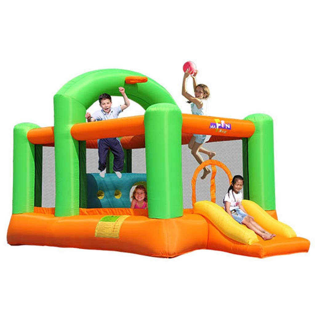 en linea Castillo Inflable para para para Niños Toboganes para Niños Trampolín para Niños En Interiores Y Exteriores Parque De Diversiones Castillo Inflable Grande Trampolín para Niños Al Aire Libre 430x235x245cm  compra limitada