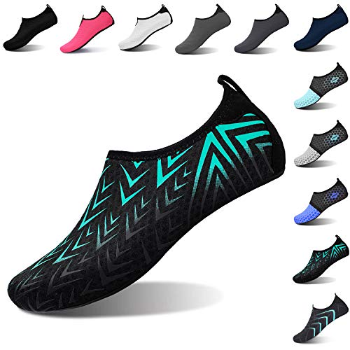 L-RUN Unisex Water Shoes Barefoot Skin Shoes for Run Dive Surf Swim Beach Yoga