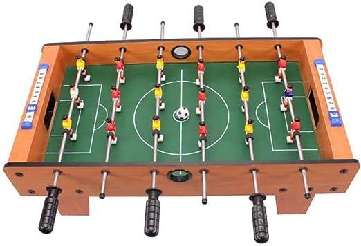 Futbolines Mesa Niños Madera Juguetes De Entretenimiento Doble ...