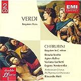Verdi: Requiem Mass - Cherubini: Requiem in C minor / Scotto, Baltsa, Luchetti, Nesterenko; Muti