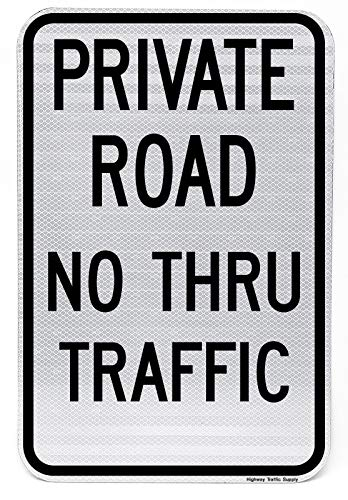 (Highway traffic Supply 3M Engineer Grade Prismatic Reflective Sign, Legend