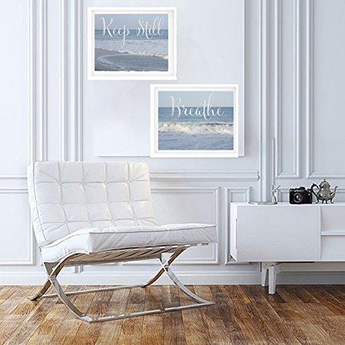 Inspirational Art Prints Breathe And Keep Still Quote Photos