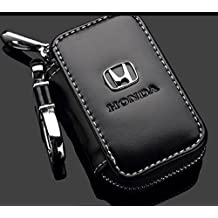 Leather Car Key Case Remote Control package Auto Key Chains for Honda