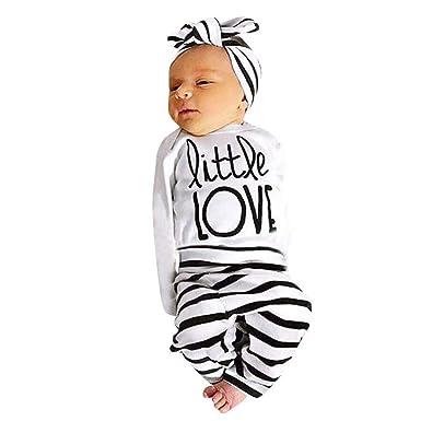80fac74c4375 Zerototens Newborn Baby Boy Girl Long Sleeve White Letter Print T ...