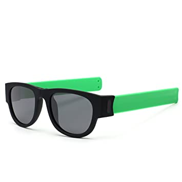 LIGHTOP Gafas de Sol Deportivas Plegables Slap-On Gafas de ...