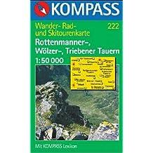 222: Rottenmanner - Wolzer - Triebener Tauern 1:50, 000