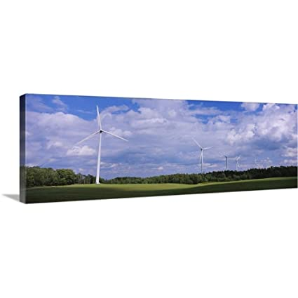 Amazon com: GREATBIGCANVAS Gallery-Wrapped Canvas Entitled Wind