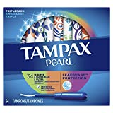 Tampax Pearl, Plastic Tampons, Triple Pack With Super/super Plus/ultra Absorbency, Unscented 34 Count
