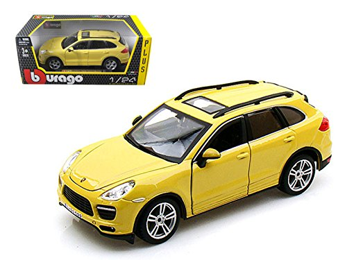- Bburago Porsche Cayenne Turbo 1/24 Yellow