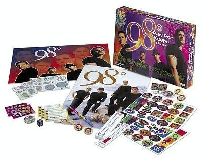 The 98 Degrees Play For Keeps Game by Winterland Toys (Interesting Facts About Halloween For Kids)