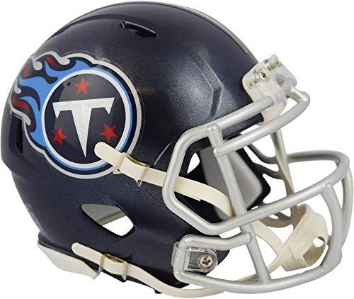Sports Memorabilia Riddell Tennessee Titans Revolution Speed Mini Football Helmet - NFL Mini Helmets ()