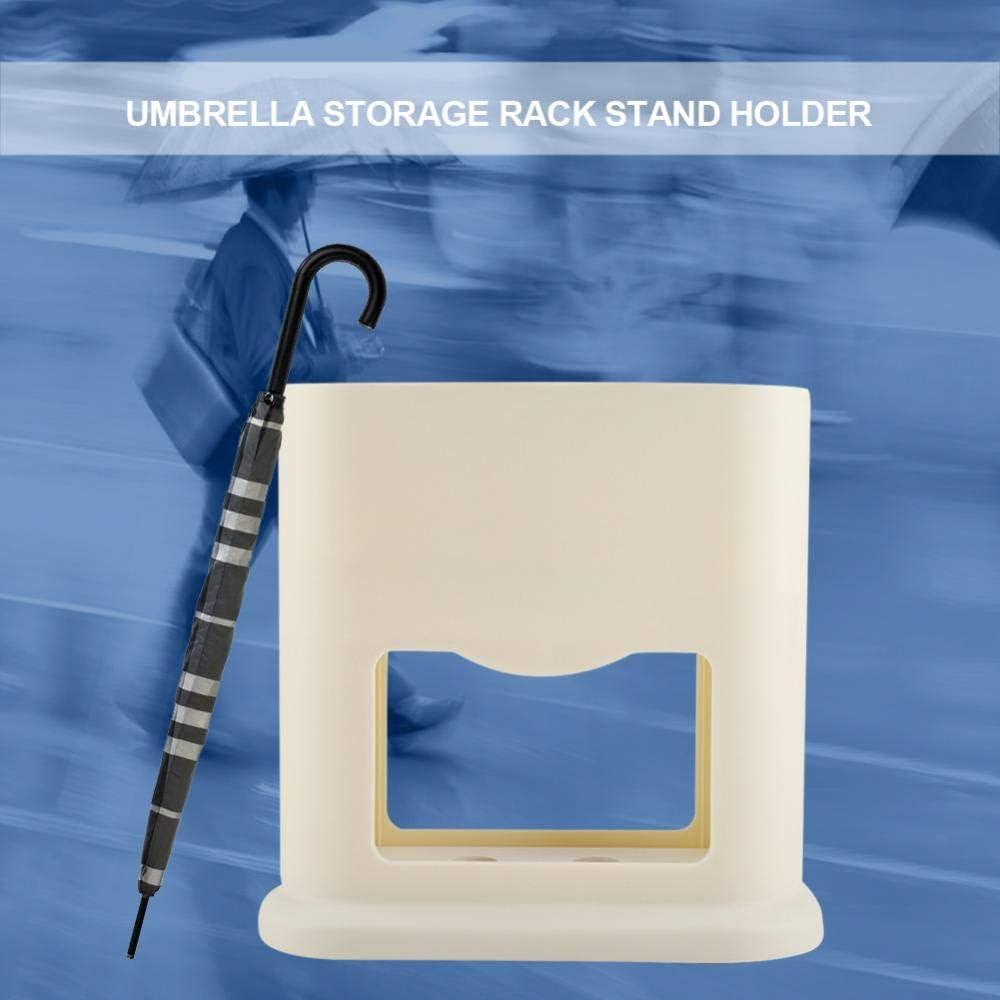 Beige Alinory Umbrella Storage Rack Stand Holder Organizador con 4 Agujeros Accesorio de Entrada de Oficina en casa