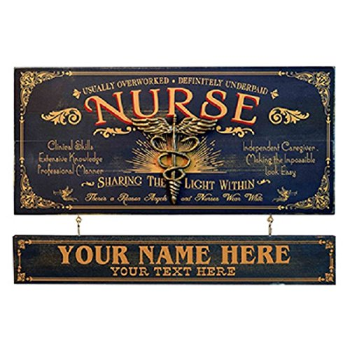 (Divine Medical Nurse Occupational Sign With Nameboard)