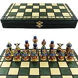 Chess Set Matryoshkas Russian Nesting Dolls