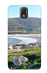 Exultantor High-end Case Cover Protector For Galaxy Note 3(tasmania Australia Tasmania Island Island Tasmania Australia Map)