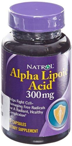 Alpha Lipoic Acid 300mg Natrol Caps
