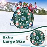 Extra Large 50 Inch Snow Tube with Backrest No More