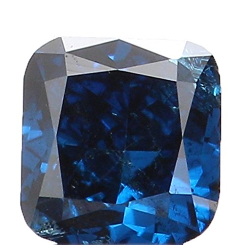 Loose Round Cushion Diamonds (0.16 Ct Natural Loose Diamond Cushion Blue SI2 Clarity 3.00X2.90X1.90MM L2710)