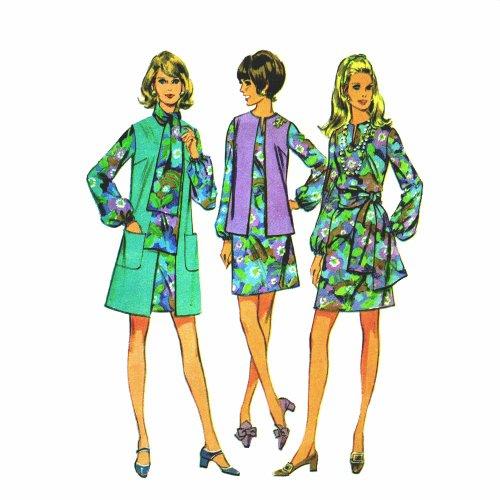 60s Sleeveless Dress - 6