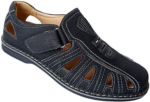 Slipper Schuhe Herren Sommer 40 schwarz Halbschuhe 46 Gr Nr Sandalen 82993 qE6d6