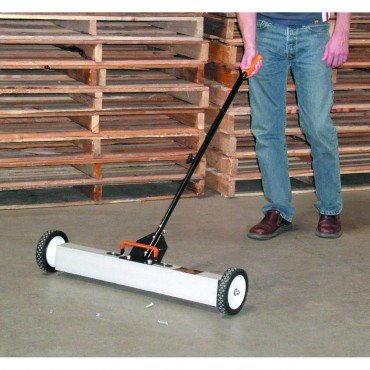 30 In. Magnetic Sweeper with Wheels