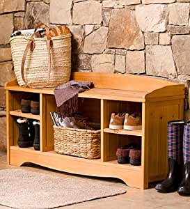 Shoe And Boot Storage Bench