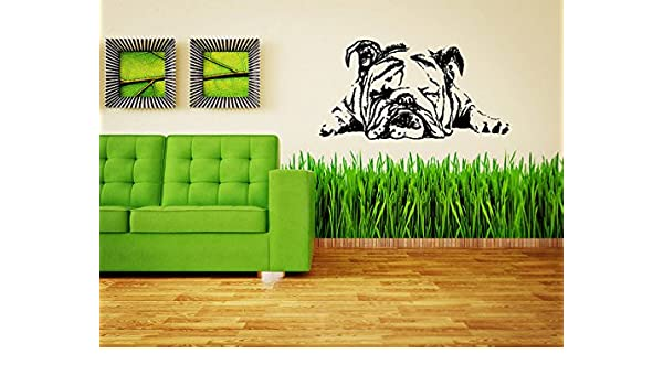 Wall Mural Dog Pet Pug Black and White Repositionable Vinyl Interior Art