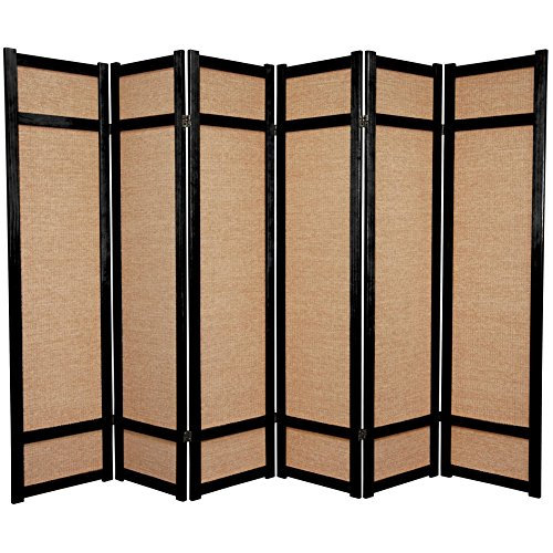Amazoncom Oriental Furniture 6 ft Tall Jute Shoji Screen 4