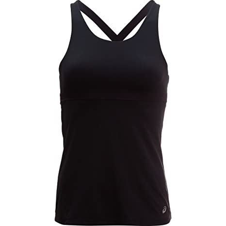 94fba02ab4c7d Amazon.com  Asics Dry Bra Tank Top - Women s Black
