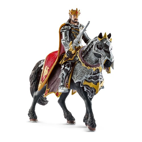 Schleich Dragon Knight King On Horse Toy Figure