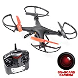 Recon Observation Drone with Camera - with SD Card (Black)