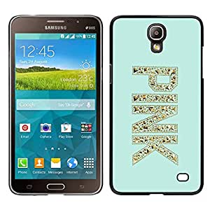 Impact Case Cover with Art Pattern Designs FOR Samsung Galaxy Mega 2 Pink Gold Glitter Bling Mint Green Betty shop