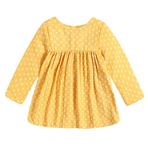 Yellow Baby Doll Dress - 2