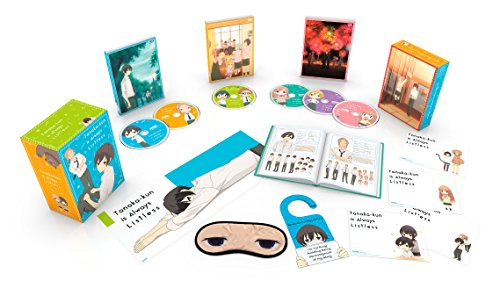 Tanaka-kun Is Always Listless Premium Box Set Blu-ray/DVD