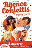 "Afficher ""Agence Confettis n° 4<br /> Poney party"""