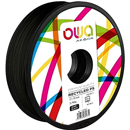 OWA Bobina de antiácaros para Impresora 3D - PS - Negro: Amazon.es ...