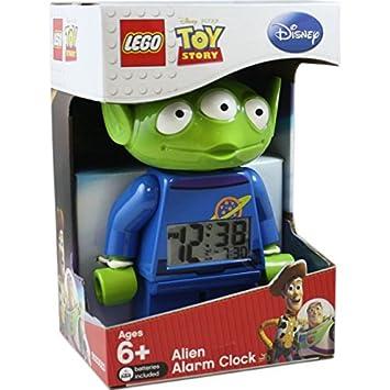 LEGO Toy Story Alien Minifigure Clock: Amazon.co.uk: Toys & Games
